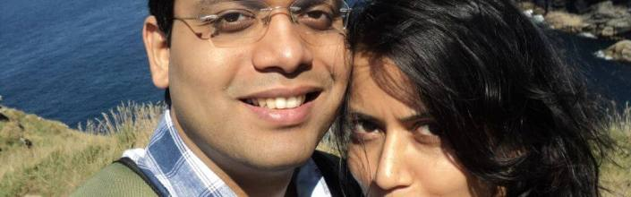 Ashwina and I