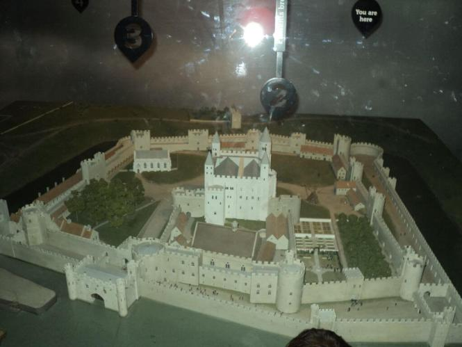 Miniature model of the Tower of London