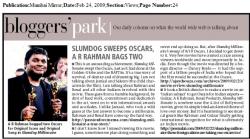 Mumbai Mirror Blogger's Park - 24-Feb-09
