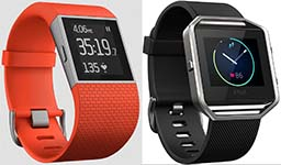 Fitbit Blaze and Surge little