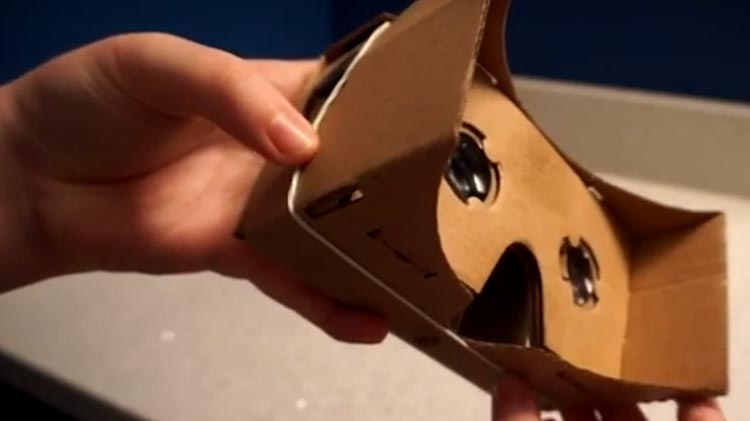 My daughter was my secret weapon to assemble the Google Cardboard VR - it's quite complicated, and the instructions don't help all that much. Luckily, I had the help of someone who has a 16-year-old brain!
