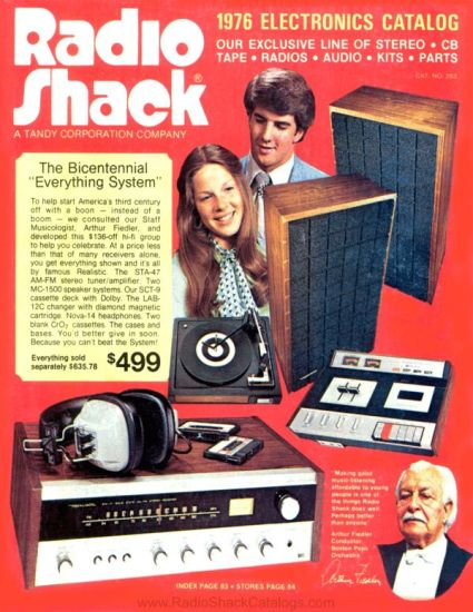 Radio Shack catalogue 1976