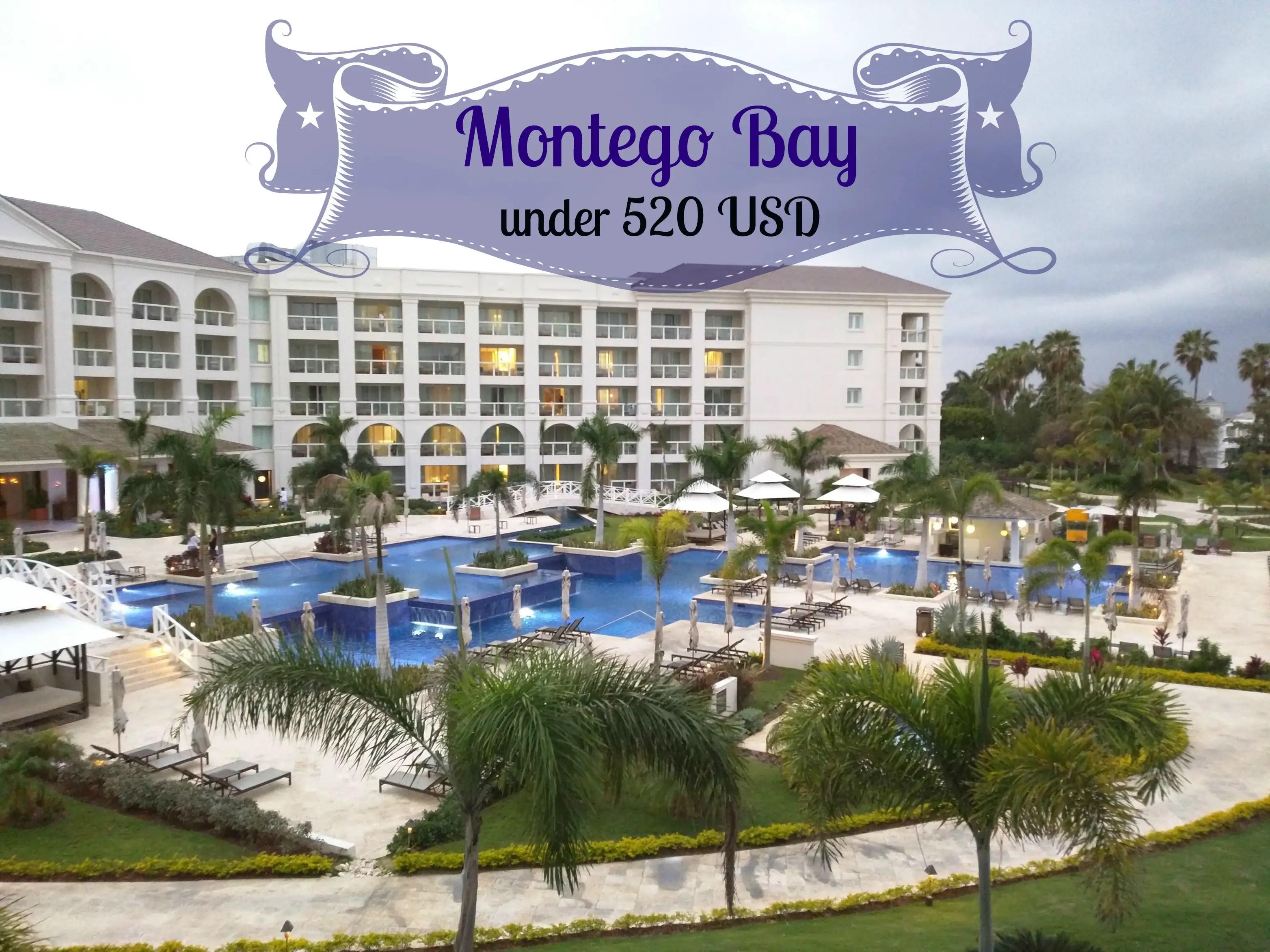 Montego Bay Jamaica Under 520 USD