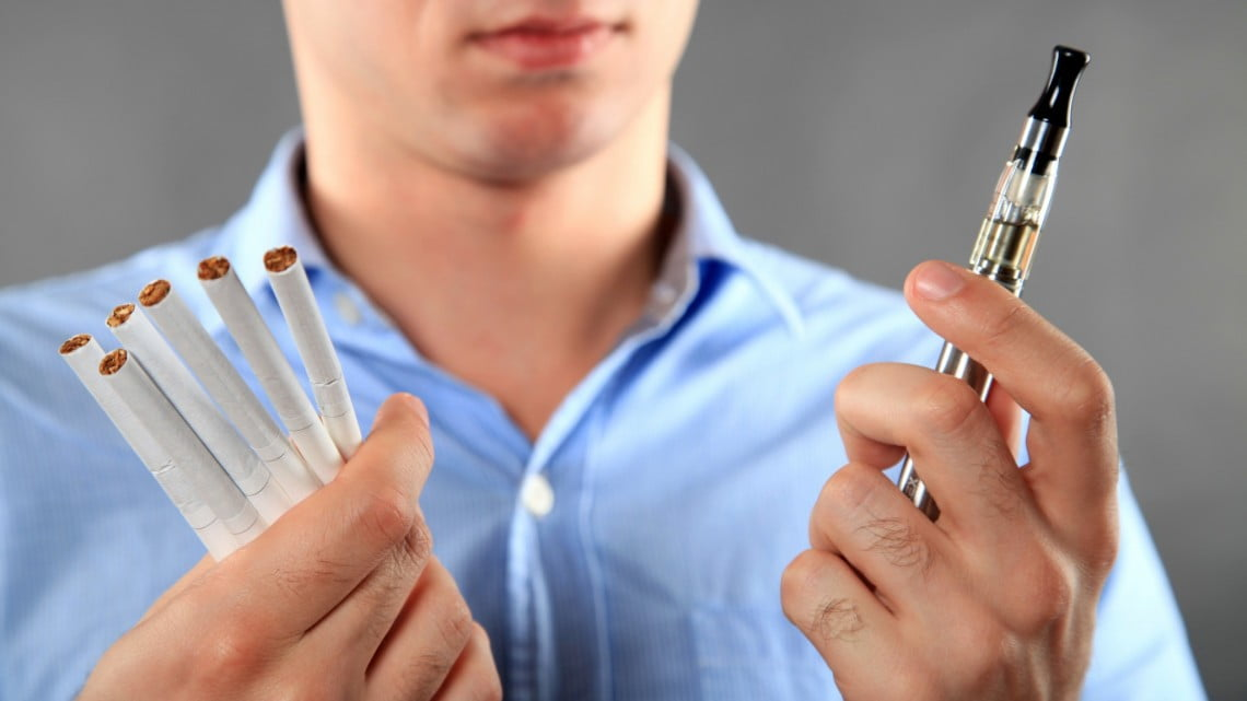 Are e-cigarettes an effective way of giving up smoking?