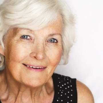 Senior woman elderly older lady
