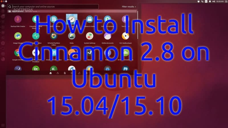 How to Install Cinnamon 2.8 on Ubuntu 15.04 and 15.10
