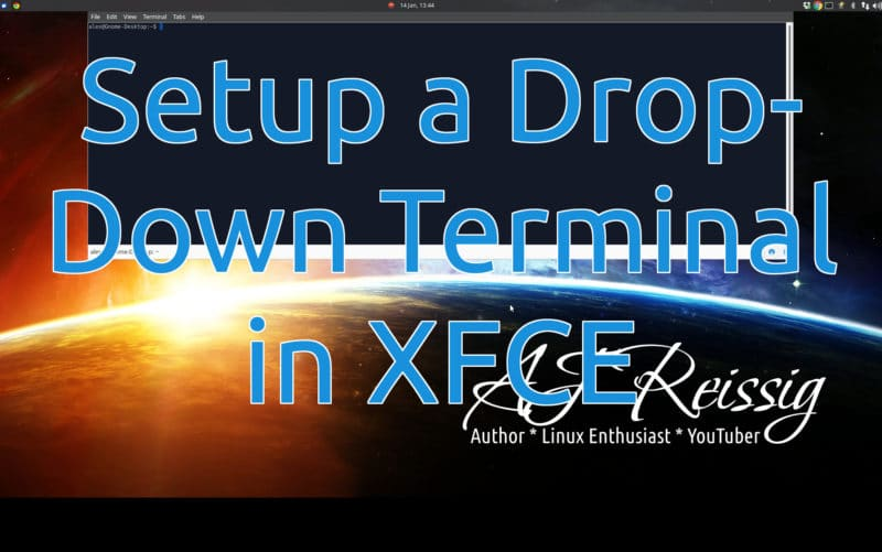 Setup a Drop-Down Terminal in XFCE