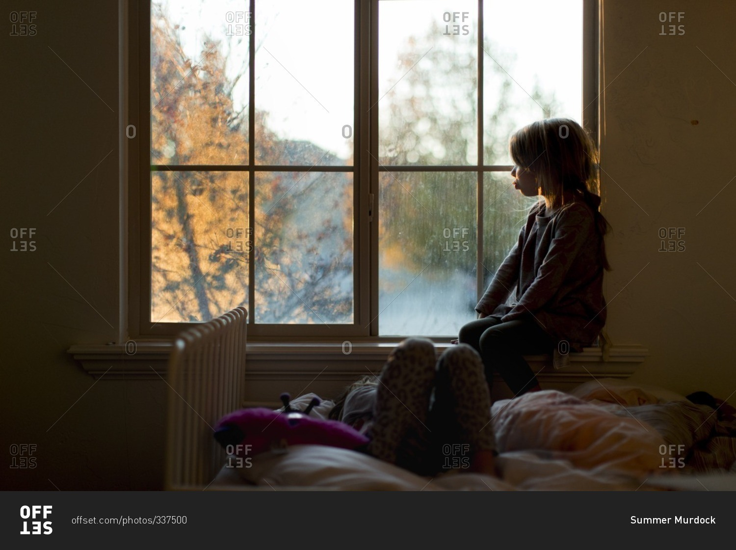 Sterling Have Any Girl Staring Out Window By Bed Stock Photo Offset Looking Out Window Images Looking Out Window S bark post Looking Out Window