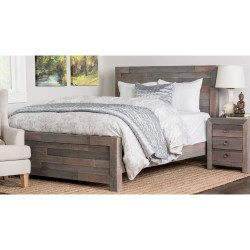 The Gray Barn Windswept Reclaimed Wood Bed Free Shipping On