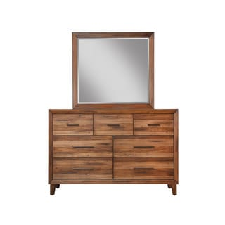 Alpine Furniture Origins Trinidad 7drawer Dresser Easy To Assemble Dresser71