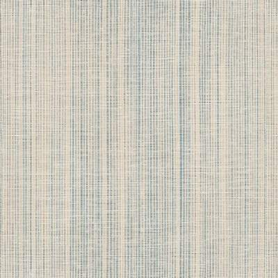 Shop Manhattan Comfort Glenview 32.7 Ft. x 20.5 In. Vinyl Blue Vertical Stria Texture Wallpaper ...
