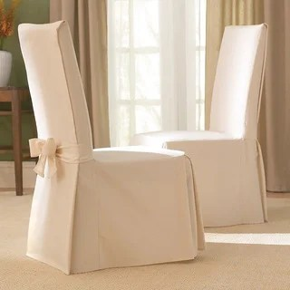 sure fit cotton classic dining chair slipcover furniture covers for chairs