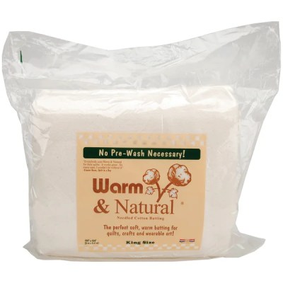 Warm and Natural Cotton Batting King Size - Overstock Shopping - Big Discounts on Batting ...