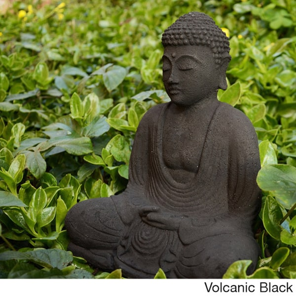 Overstockcom Garden Buddha Sculpture Indonesia