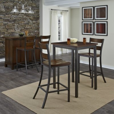 Home Styles Cabin Creek 3-piece Bistro Set - 15709806 ...