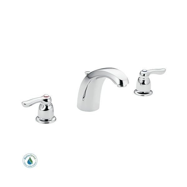 Moen 8922 Double Handle Widespread Bathroom Faucet From The MBITION Collection Valve Included