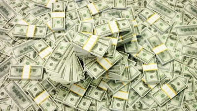 Close Up Rotation Of One Million Dollar Cash. Stock Footage Video 14032412   Shutterstock
