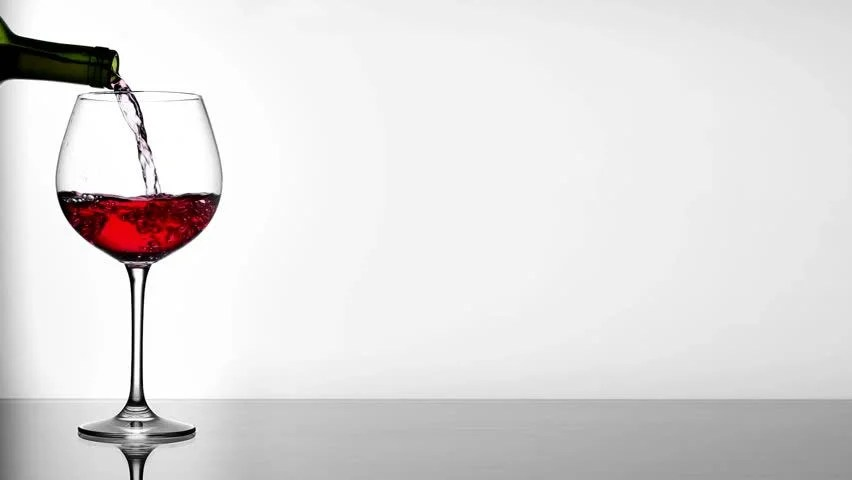 Red Wine Poured In Glass On Table Stock Footage Video 2715941 | Shutterstock