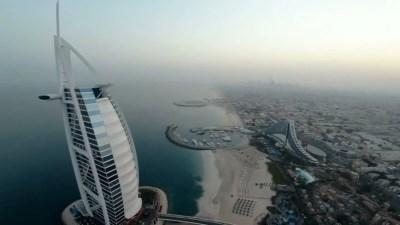 Dubai Cityscape with Burj Al Arab Jumeirah in the United Arab Emirates - UAE image - Free stock ...