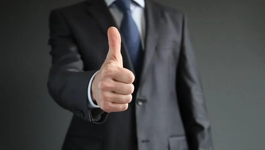 Businessman Showing Thumbs Down - Closeup Shot Stock Footage Video 4729889 | Shutterstock
