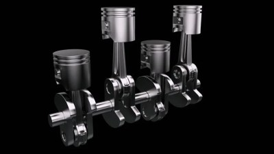 Non-stop Cyclic Piston with Alpha Stock Footage Video (100% Royalty-free) 993007 | Shutterstock