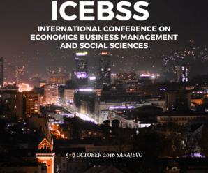 Uluslararası Ekonomi, İşletme Yönetimi ve Sosyal Bilimler Konferansı