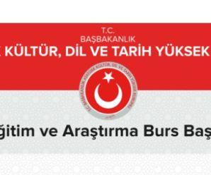 Atatürk Kültür, Dil ve Tarih Yüksek Kurumu lisans, yüksek lisans ve doktora burs başvurusu için son 2 gün