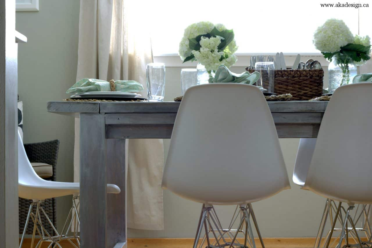 white wash pickling get the restoration hardware look for less whitewash kitchen table aka design farmhouse table eiffel look chairs