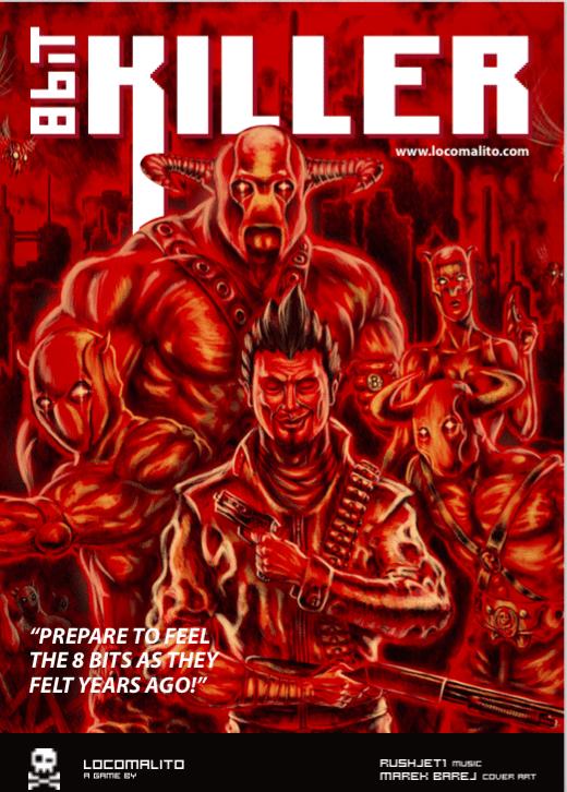 8-bit killer poster