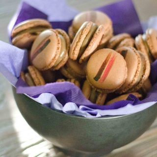 The Macaron Diaries Part 1 (Italian Meringue): Coffee and Crystallised Ginger Macarons