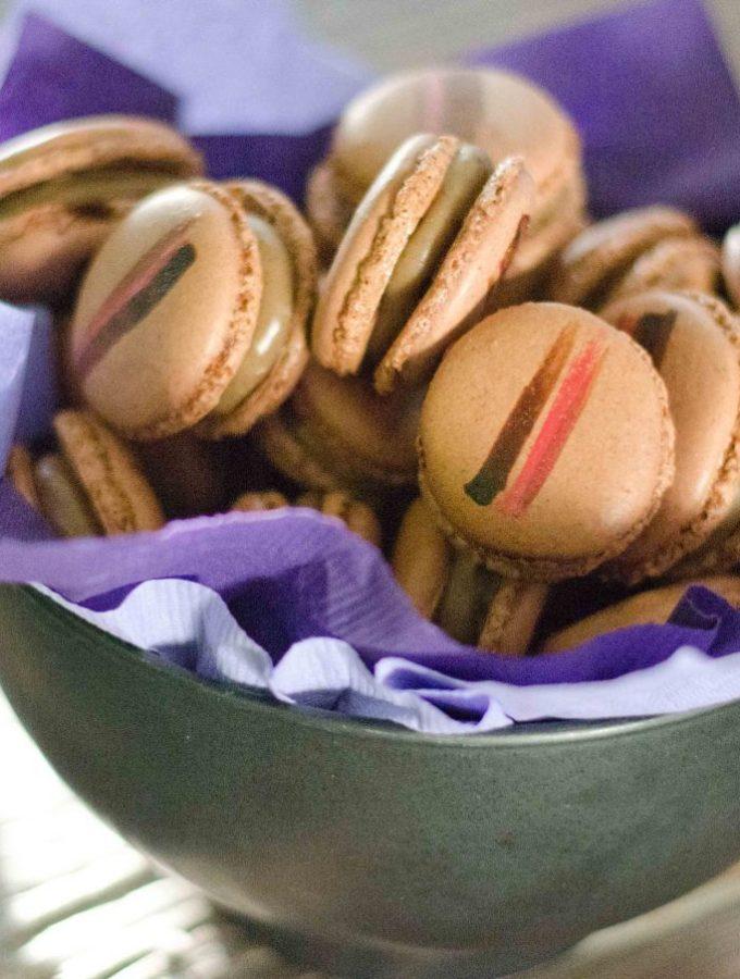 The Macaron Diaries Part 1 (Italian Meringue): Coffee and Crystallised Ginger Macarons