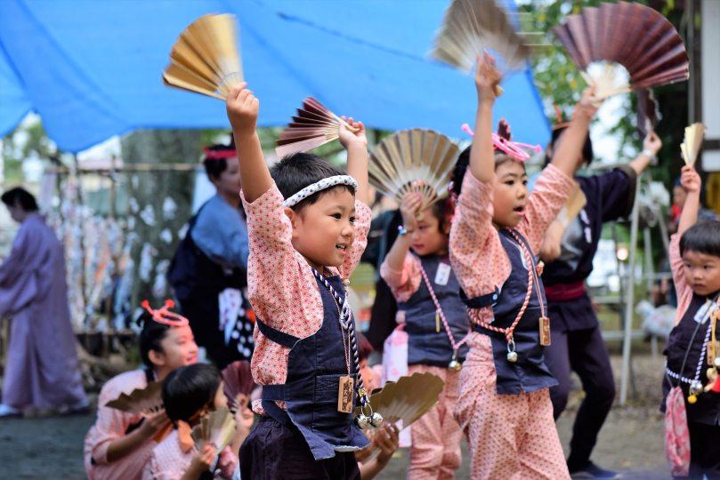 伊達雀さんによる雀踊り