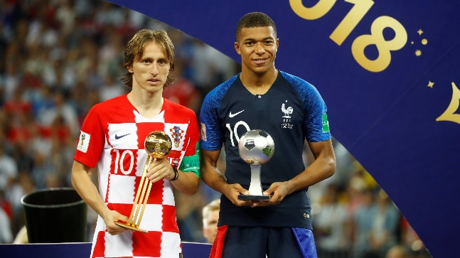 FIFA World Cup 2018  Full list of prize winners   Sports News 2018 FIFA World Cup  France vs Croatia  Luka Modric  Kylian Mbappe