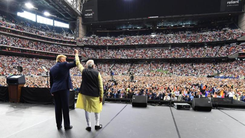 Howdy, Modi! from the audience: How Narendra Modi, Donald Trump ...