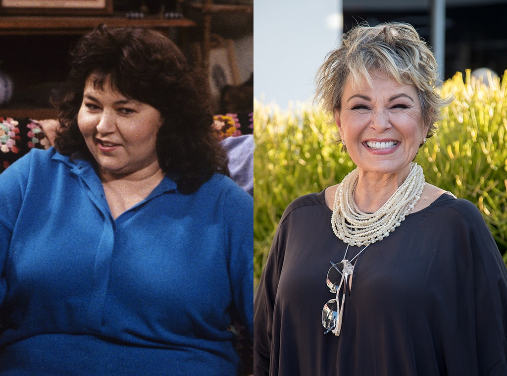 Rosanne Barr from Roseanne Cast  Then and Now   E  News Roseanne Barr  Roseanne  Then and Now