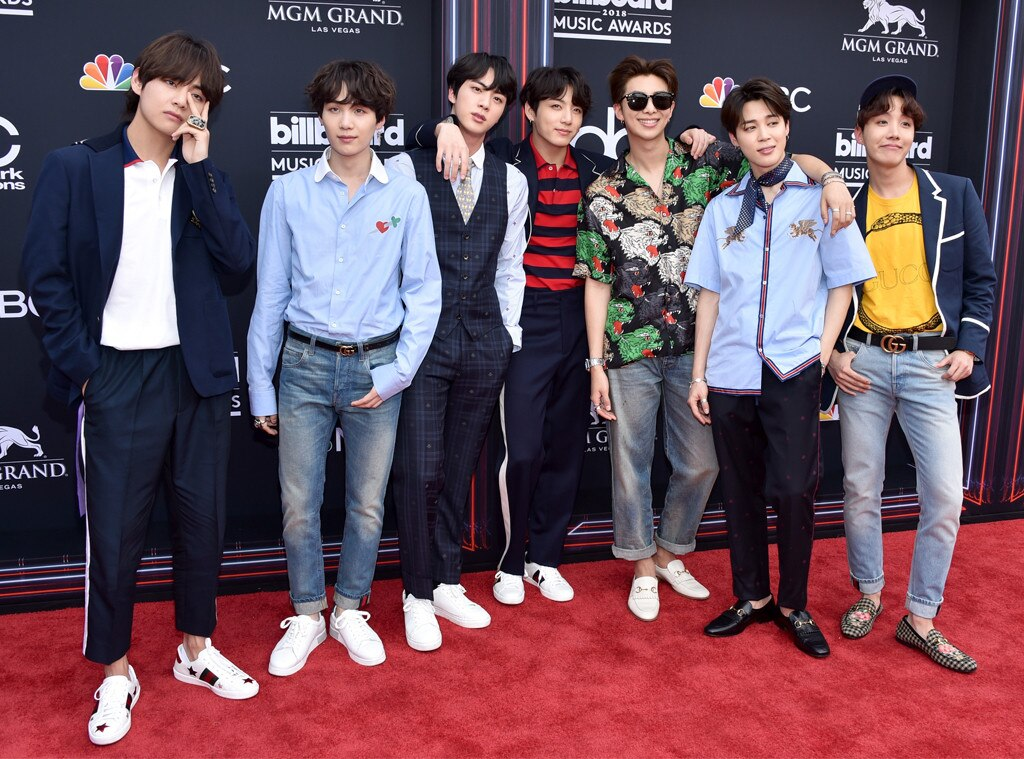 BTS Shares Their Number One Social Media Rule at the 2018 Billboard Music Awards | E! News