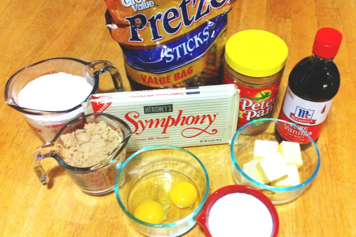 Pretzel Cookies ingredients