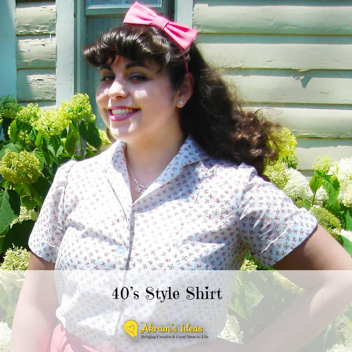 40's Style Shirt