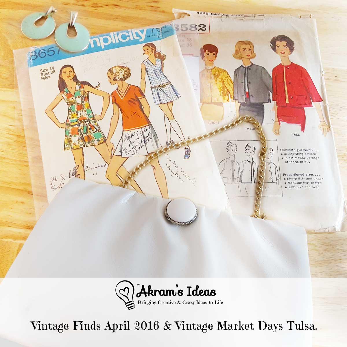 Vintage Finds April 2016 & Vintage Market Days Tulsa