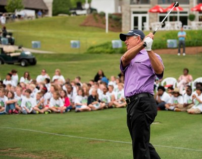 Pro golfers teach golf, life lessons at Junior Clinic ...