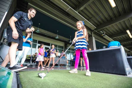 Topgolf has programs for children. (Topgolf)