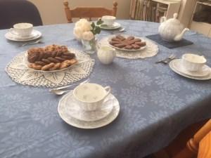 Morning tea table