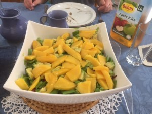 Mango salad