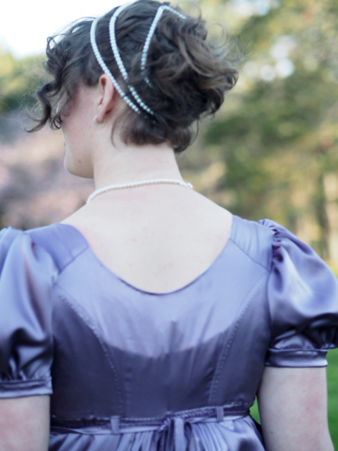 Back bodice view
