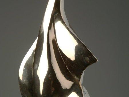 Oiseau-Ciel bronze poli 147x9x7