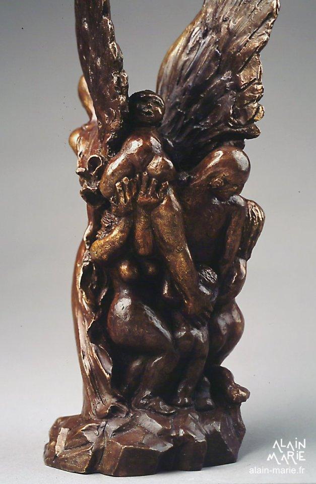 Songe d'espoir, bronze 30x11x11