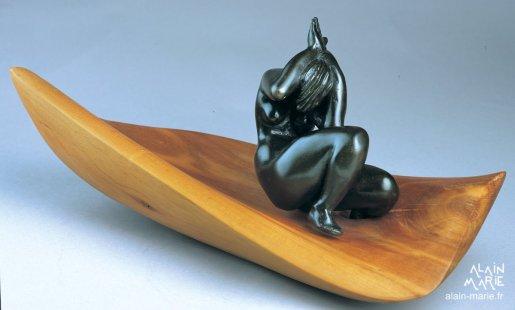Eveil bronze, merisier 1