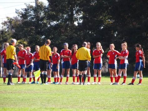 U14 Girls Alameda Islanders 2015