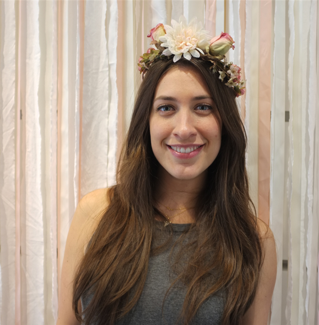 Silk Flower Crown 3