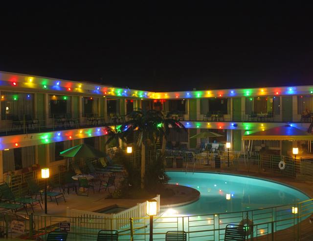 Carribean Motel at Night